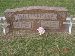 Allie May <I>Wester</I> Williamson