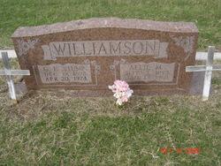 """C. E. """"Stump"""" Williamson"""