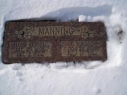 Mabel Alice <I>Burningham</I> Manning