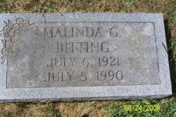 Malinda G Bitting