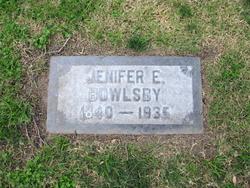 Jenifer E. Bowlsby