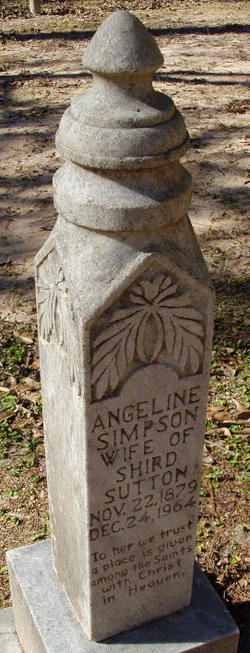 Angeline <I>Simpson</I> Sutton