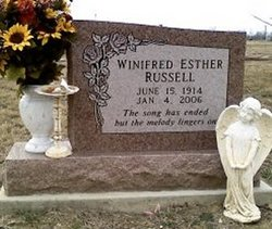Winifred Esther <I>Baldwin</I> Russell