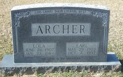 Lola <I>Bigelow</I> Archer