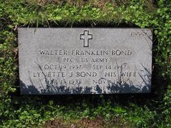 "Walter Franklin ""Walt"" Bond"