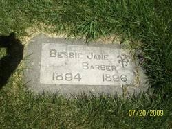 Bessie Jane Barber