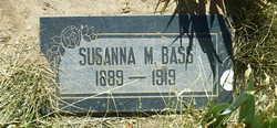 Susanna Mary <I>Bass</I> Cox