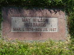 May Wilson Husbands