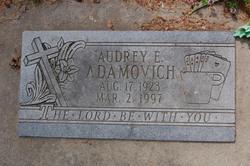 Audrey E. Adamovich