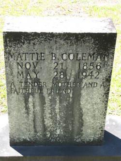 Mattie B. <I>Stewart</I> Coleman