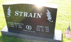 Gerry Lee Strain