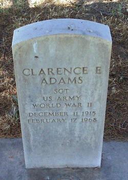 Clarence Ervin Adams