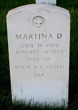 Martina D. <I>Steger</I> Olsen