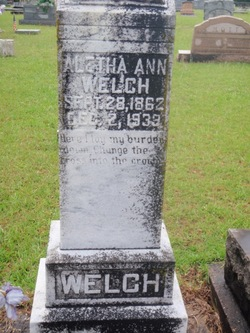 Aletha Ann <I>Wall</I> Welch