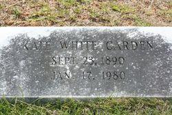 Kate <I>White</I> Carden
