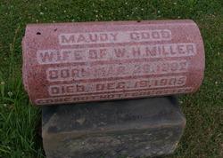 Maudy <I>Good</I> Miller