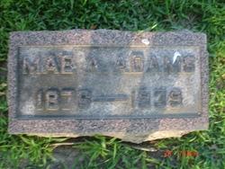 Mae <I>Allen</I> Adams