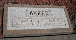 Julia Rebecca <I>Derrick</I> Baker
