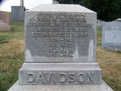 Clara B. <I>McGunnegle</I> Davidson