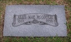 """Almeda Mae """"Allie"""" <I>Snodgrass</I> McGough"""