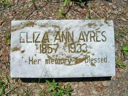 Eliza Ann Ayrers