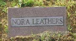 "Elnora ""Nora"" <I>Adams</I> Leathers"