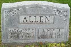 Margaret Emily <I>Moffitt</I> Allen