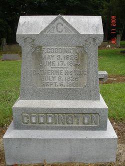 Catherine <I>Immel</I> Coddington
