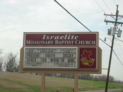 Israelite Baptist Church Cemetery