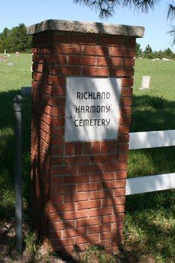 Richland Harmony Cemetery
