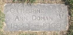 Catherine Ann <I>Brown</I> Doman