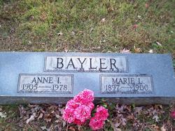 Anne Isadore Bayler