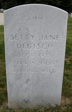 Betty Jane <I>Weierback</I> Deutsch