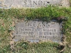 Cora <I>Sweeney</I> McCann