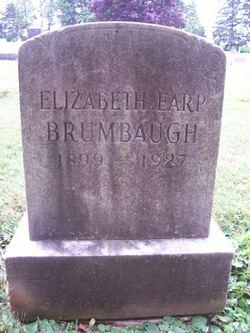 Elizabeth Holt <I>Earp</I> Brumbaugh