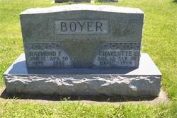 Charlotte <I>Cornwell</I> Boyer