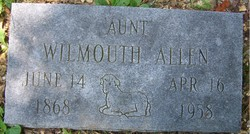 Wilmouth <I>Jarman</I> Allen
