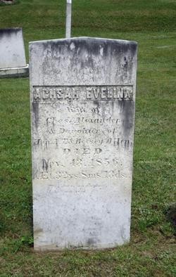 Achsah Evelina <I>Allen</I> Alexander