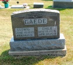 """Ludwig """"Louis"""" Gaede"""