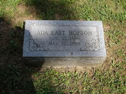 Ada <I>East</I> Hopson