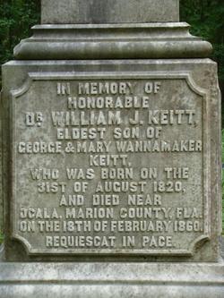 Dr William J. Keitt