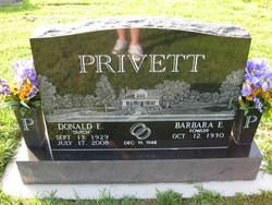 """Donald E. """"Dutch"""" Privett"""