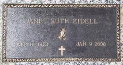 Janet Ruth <I>Rebmann</I> Eidell