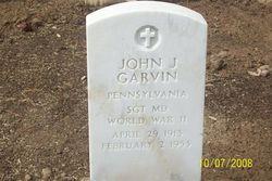 John J Garvin