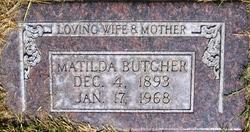 Matilda <I>Eckstedt</I> Butcher
