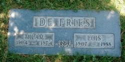 Sally Lois <I>Madden</I> DeFries