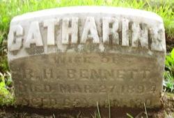 Catherine <I>Bennett</I> Bennett