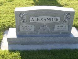 Karen Jane <I>Burgess</I> Alexander