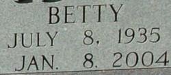 Betty Lou <I>Sexton</I> Adkins