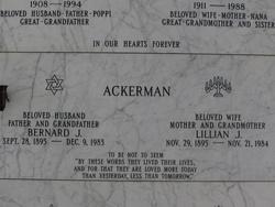 Bernard J Ackerman